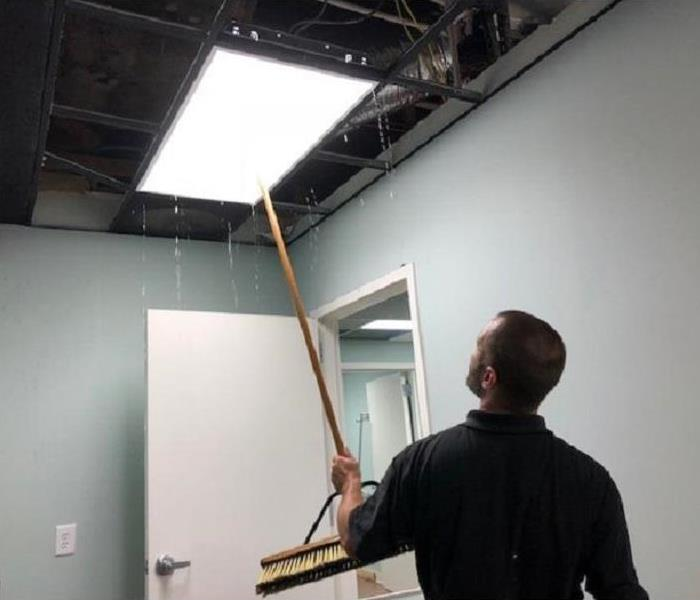 Office Water Damage Clean-up