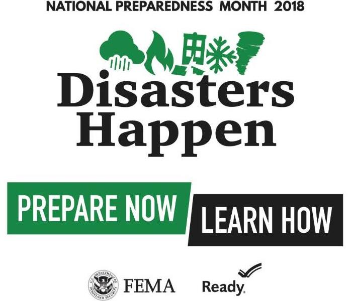 Why SERVPRO SERVPRO of East Greenville County Observes National Preparedness Month 2018