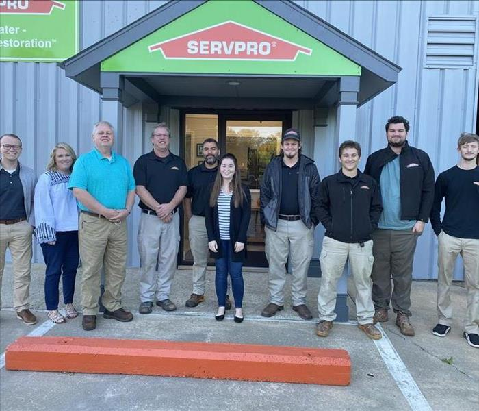 SERVPRO of East Greenville County Team